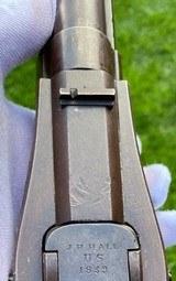 Scarce & Fine Model 1836 J H Hall 1839 Carbine w/ Saddle Ring Staple - 13 of 20