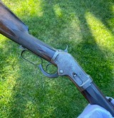 Extremely Rare Deluxe Colt Burgess Lever Action Rifle w/ Color Case Hardened Frame