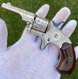 Factory Engraved Colt Open Top Revolver