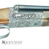 Kevin's Special Engraved 28ga SxS by Poli