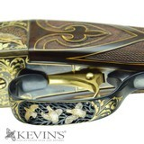 """WINCHESTER MODEL 21 20GA 28"""" EXQUISITE ENGRAVED W/ GOLD INLAY - 4 of 11"""