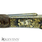 """WINCHESTER MODEL 21 20GA 28"""" EXQUISITE ENGRAVED W/ GOLD INLAY - 3 of 11"""