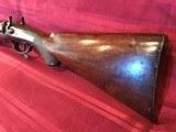 J. Braddell & Son, Belfast 8 Gauge Double Barrel Hammer Shotgun - 6 of 15