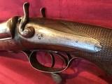 J. Braddell & Son, Belfast 8 Gauge Double Barrel Hammer Shotgun - 8 of 15