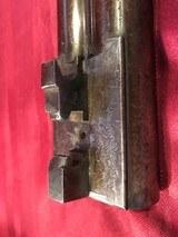 J. Braddell & Son, Belfast 8 Gauge Double Barrel Hammer Shotgun - 14 of 15