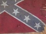 Antique Confederate battle flag. - 2 of 4