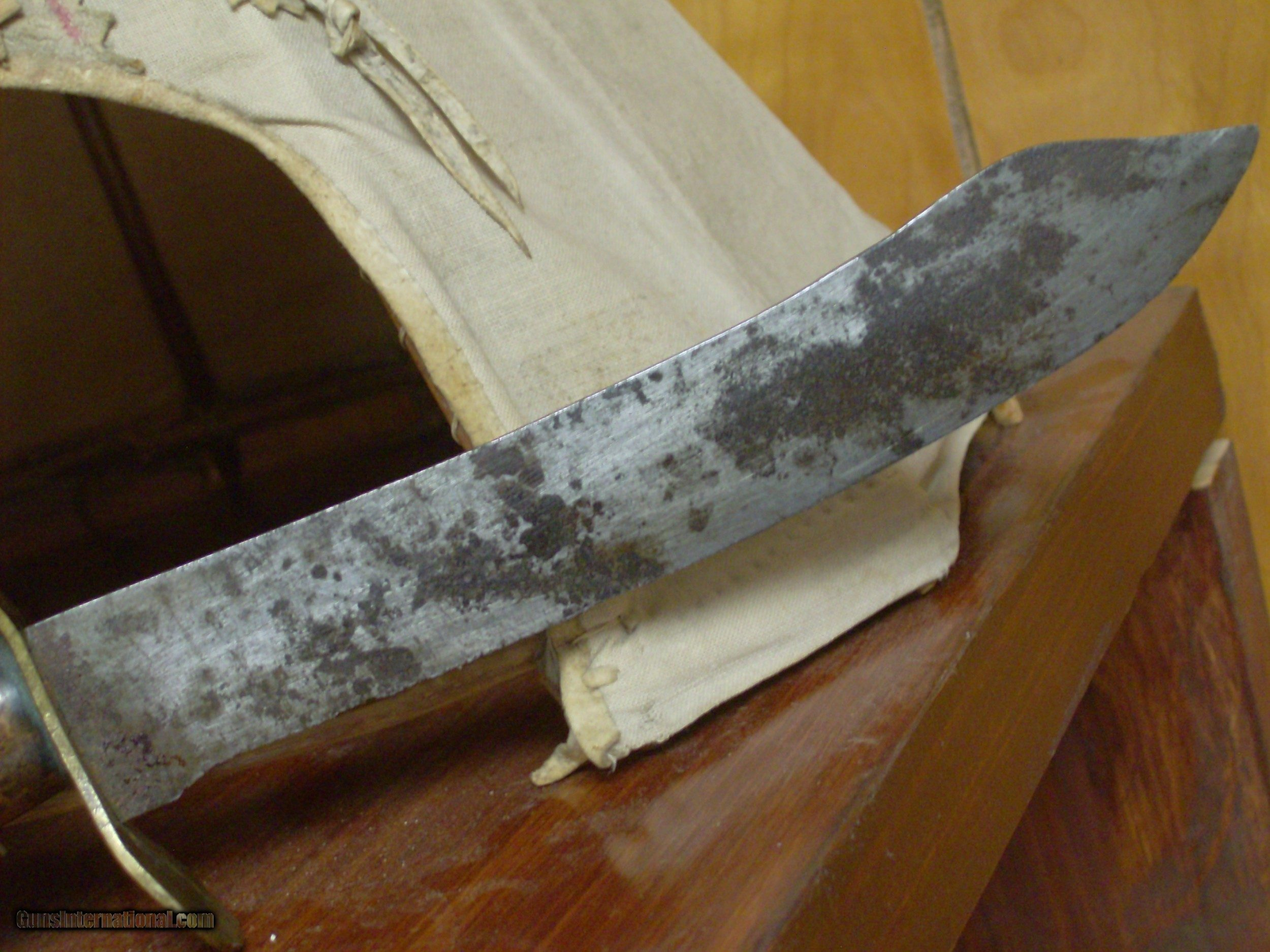 Early 19th century American Mountain Man/Frontiersman knife
