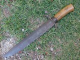 American Antique Bowie knife Confederate Side Knife