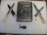 Michael Price San Francisco Antique Bowie knife, California Gold Rush