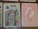 Samuel Hart original 1858 gambling playing/poker cards. - 2 of 7