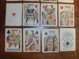 Samuel Hart original 1858 gambling playing/poker cards. - 5 of 7