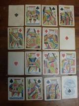 Samuel Hart original 1858 gambling playing/poker cards. - 4 of 7