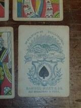 Samuel Hart original 1858 gambling playing/poker cards. - 3 of 7