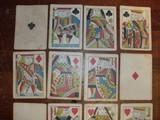 Samuel Hart original 1858 gambling playing/poker cards. - 6 of 7