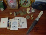 Samuel Hart original 1858 gambling playing/poker cards. - 7 of 7