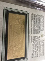 The First Gold Bank Notes Of Belize 22 Kt Gold - 10 of 20