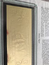 The First Gold Bank Notes Of Belize 22 Kt Gold - 14 of 20