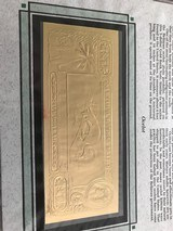 The First Gold Bank Notes Of Belize 22 Kt Gold - 17 of 20