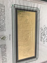 The First Gold Bank Notes Of Belize 22 Kt Gold - 19 of 20