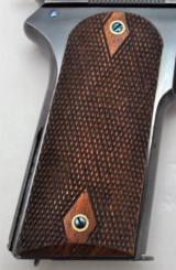 ULTRA RARE COLT MODEL 1905 W/BACK STRAP SLOTTED FOR SHOULDER STRAP (MFG 1910)!!! - 4 of 13