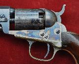 FANTASTIC CIVIL WAR ERA COLT 1849 POCKET REVOLVER .31 CAL ANTIQUE 1863 MFG WITH ORIGINAL CASE & ACCESSORIES - 10 of 20