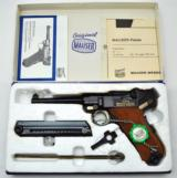 RARE MAUSER BULGARIAN CONTRACT LUGER .30 CALIBER NEW IN BOX!