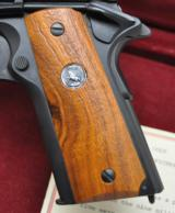 SUPER RARE COLT GENERAL OFFICER'S PISTOL PROTOTYPE 9MM (1 OF 16) W/COLT FACTORY LETTER, WALNUT BOX AND THREE MAGS!!! - 11 of 24