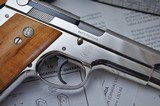 ONE OF KIND S&W 39 9MM SERIAL #39 ALL STEEL FACTORY SPECIAL ORDER! W/LETTER & SHIPPING RECORDS!!! - 6 of 25
