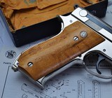 ONE OF KIND S&W 39 9MM SERIAL #39 ALL STEEL FACTORY SPECIAL ORDER! W/LETTER & SHIPPING RECORDS!!! - 7 of 25