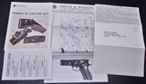 ONE OF KIND S&W 39 9MM SERIAL #39 ALL STEEL FACTORY SPECIAL ORDER! W/LETTER & SHIPPING RECORDS!!! - 25 of 25