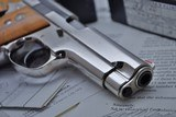 ONE OF KIND S&W 39 9MM SERIAL #39 ALL STEEL FACTORY SPECIAL ORDER! W/LETTER & SHIPPING RECORDS!!! - 5 of 25