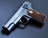 SUPER RARE! COLT 1903 .32ACP POCKET HAMMERLESS! FLEUR DE LIS GRIPS! MIRROR HI-POLISH BLUED!! - 1 of 24