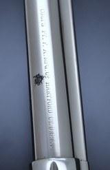 FANTASTIC ANTIQUE NICKEL COLT M1878 FRONTIER .45 COLT MFG 1881 W/SPECIAL ORDER GRIPS!!! - 11 of 22