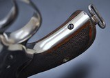 FANTASTIC ANTIQUE NICKEL COLT M1878 FRONTIER .45 COLT MFG 1881 W/SPECIAL ORDER GRIPS!!! - 17 of 22