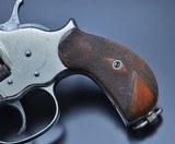 FANTASTIC ANTIQUE NICKEL COLT M1878 FRONTIER .45 COLT MFG 1881 W/SPECIAL ORDER GRIPS!!! - 6 of 22