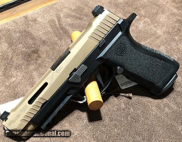Sig P320 X-Vtac 9mm for sale