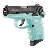 SCCY CPX-1 9MM BLACK / BLUE PISTOL WITH SAFETY