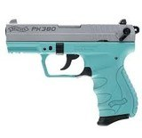 Walther PK380 .380 ACP Angel Blue 8 round