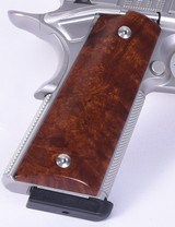 CABOT S100 GOVERNMENT 1911 STYLE .45 ACP UPGRADE WOOD GRIPS MATCHING PAIR - 6 of 8