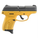 Ruger Talo Lc9s 9mm Contra Yellow Cerakote Grip 3269