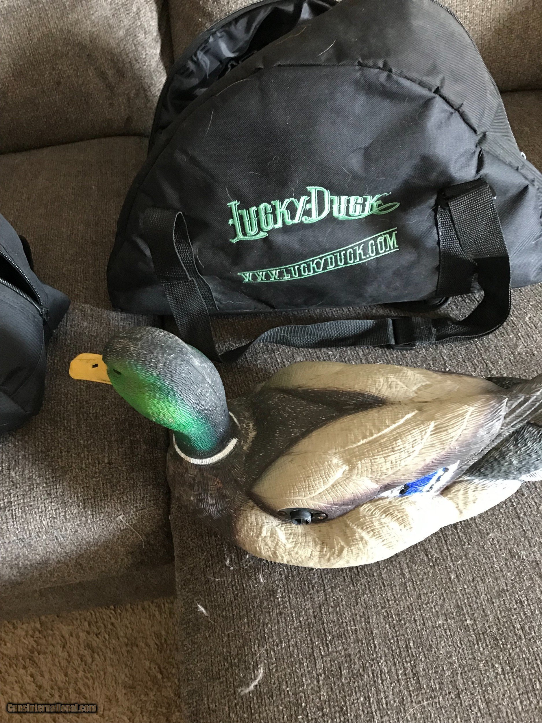 Lucky Duck Battery Operated Decoys Muskrat Hut Tube