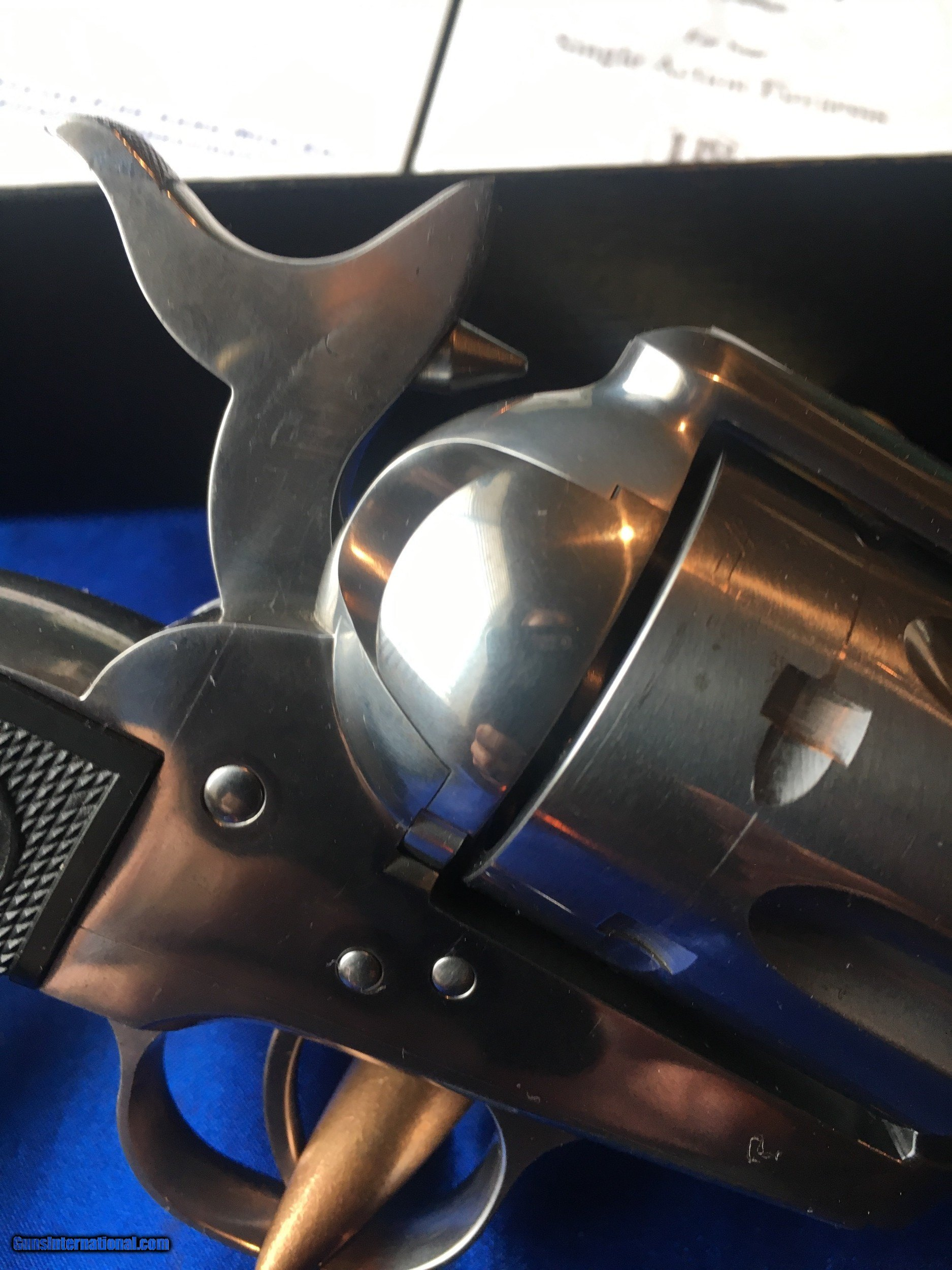 """USFA China Camp  45 Colt SAA 4 3/4"""" All USA made rare US"""