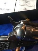 "USFA China Camp .45 Colt SAA 4 3/4"" All USA made rare US Firearms - 10 of 15"