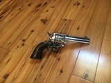 Colt SAA 45 Nickel 4 3/4 1905 1st Gen Single Action Army - 4 of 15