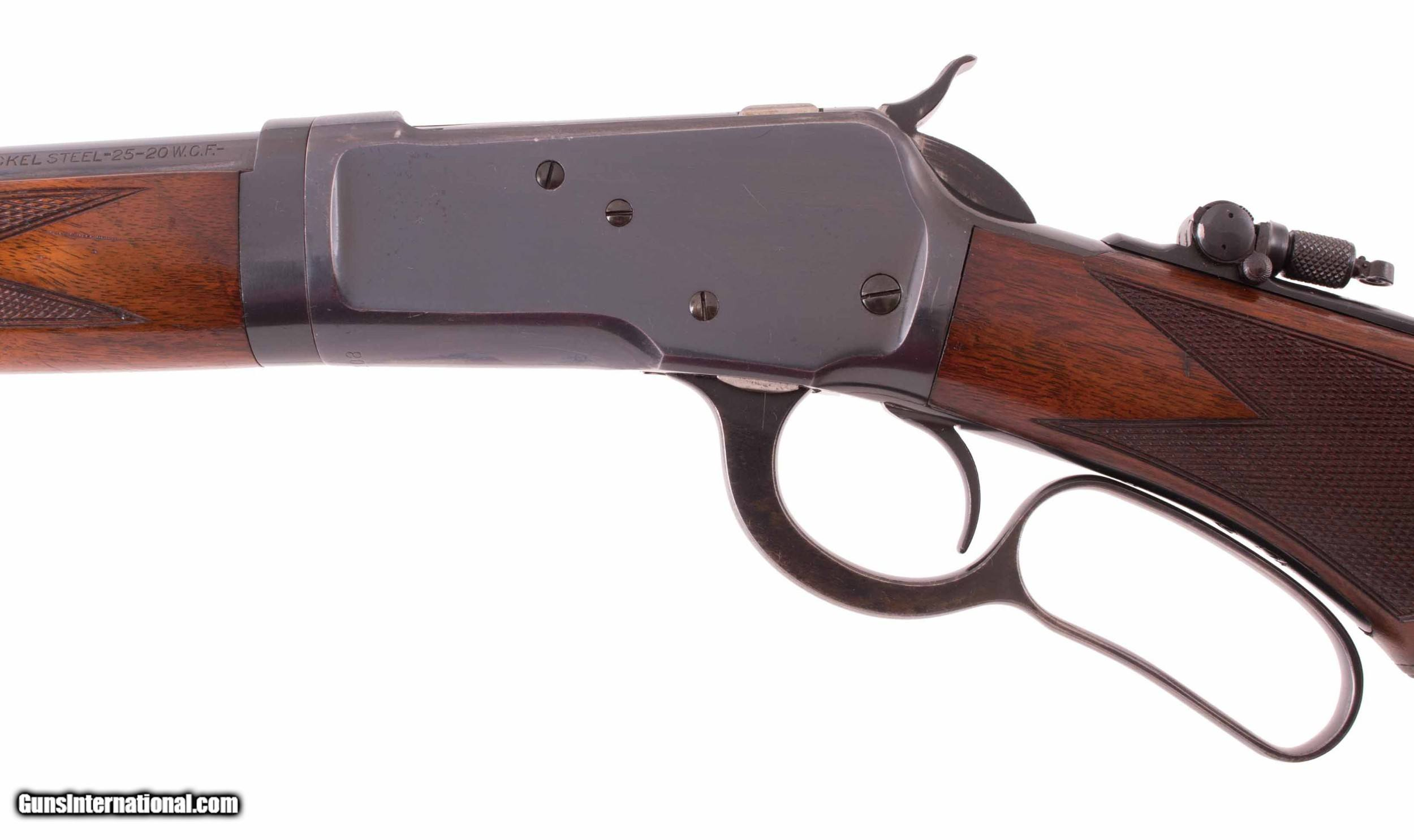 Winchester Model 53 -DELUXE TAKEDOWN, 98%, UNTOUCHED