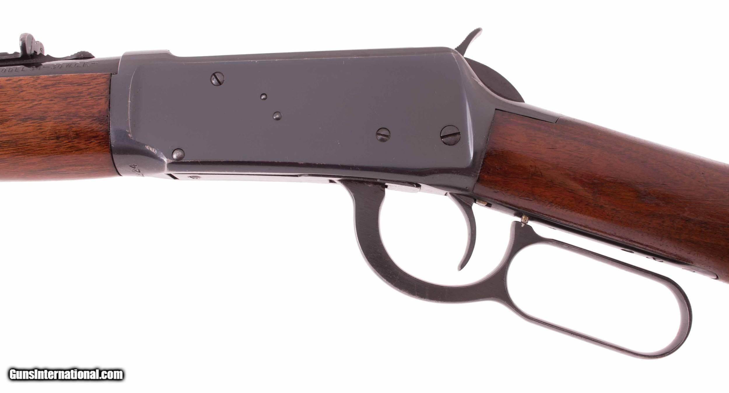 Winchester Model 94 – 98% FACTORY BLUE, 1949, UNTOUCHED! vintage