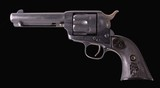 Colt Frontier Six Shooter – 1885, FACTORY LETTER, ALL MATCHING #'S, vintage firearms inc