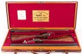 H.J. Hussey Shotguns - IMPERIAL GRADE PAIR, CASED, BOSS SINGLE TRIGGERS, vintage firearms inc - 2 of 24