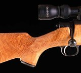 Sako L579 Custom .284 Winchester – HIGHLY FIGURED MAPLE, ULTRA LIGHT, vintage firearms inc - 6 of 22