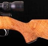 Sako L579 Custom .284 Winchester – HIGHLY FIGURED MAPLE, ULTRA LIGHT, vintage firearms inc - 5 of 22